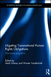 New book on litigating transnational and human rights obligations