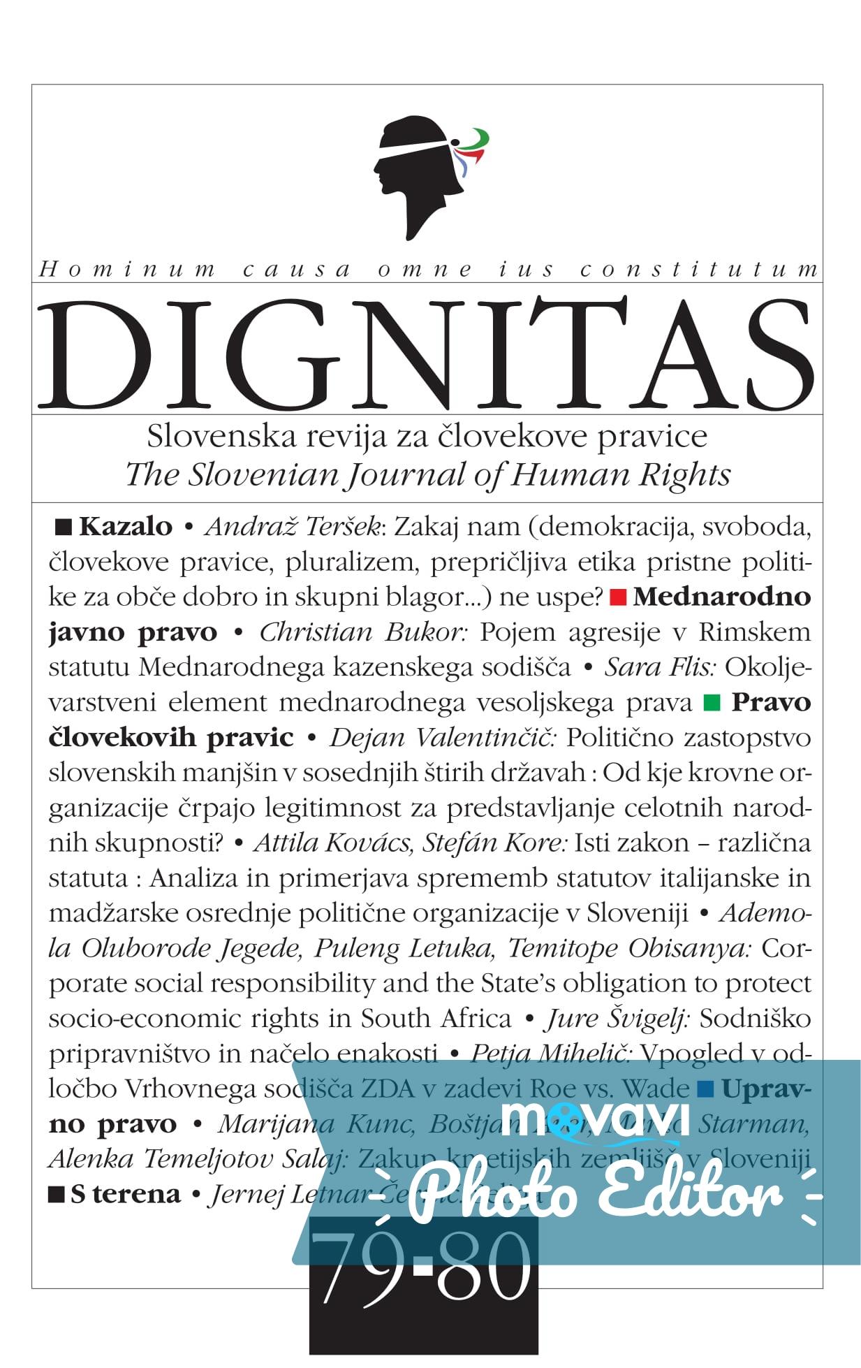 naslovnicaDignitas